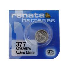 Watch Battery Renata 377 Replacement Cell