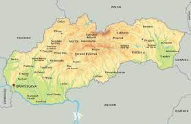 Slovakien erbjuder orörd natur med bad i kristallklara sjöar och varma källor samt bra möjligheter till vandring, cykling och längdskidåkning. Karta Slovakien Se De Storsta Staderna I Slovakien
