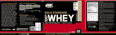 1 of 2 optimum nutrition 100 gold standard whey mocha cappuccino 2 lbs