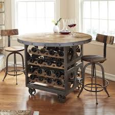 industrial wine storage pub table