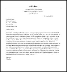Teacher Cover Letter Example Professional Student Teacher Cover Letter Sample Writing