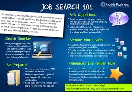 Tips For Job Seekers Physician Job Search Tips Job Search 101 Fidelis Partners