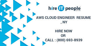 AWS Cloud Engineer Resume NY Hire IT People We Get IT Done Custom Aws Resume