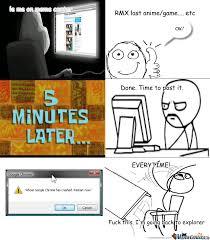 Only On Those Memes Does It Crash! Dafuq Chrome? by kurisu91 ... via Relatably.com