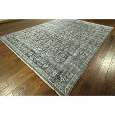 one of a kind dark blue from bamboo hand knotted area rug 9x12 furniture s near bamboo area rug
