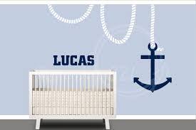 image of nautical nursery wall decals ideas