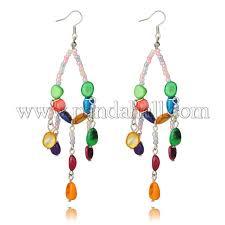 dangling freshwater shell chandelier earrings for girls ejew pje691 1
