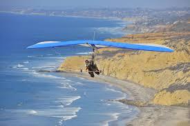 hang gliding flights