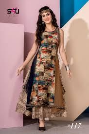 Designer Kurtis Surat Gujarat S4u Present Summer 18 Exclusive Designer Kurtis Collection