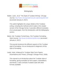 Turabian Style Annotated Bibliography Example College Paper Sample
