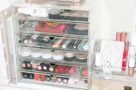 Updated Makeup Storage