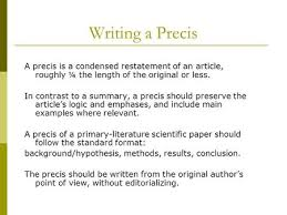 precis writing examples co precis writing examples