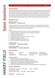 Sales Assistant Responsibilities Resume Job Description For Cv