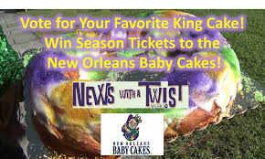 enter to win king cake of the day baby cakes contest ended enter below and complete registration on the next pages for a chance to win four season memberships to the new orleans baby cakes 2017 baseball season