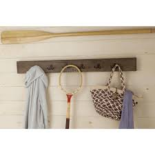 alaterre furniture pomona rustic natural wall mounted coat rack