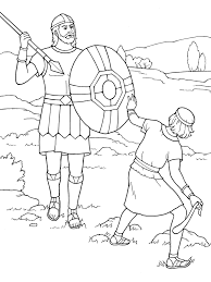 Small Picture Adult David And Goliath Coloring Pages Veggie Tales David And