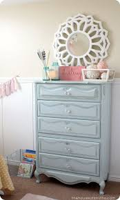 pink shabby chic furniture. girly room guest makeover revamped light blue shabby chic dresser with crystal knobs i can do this pink furniture a
