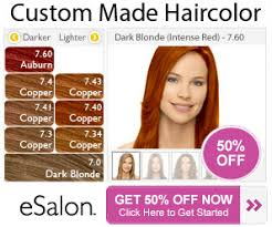 Esalon Hair Color Chart Hair Coloring