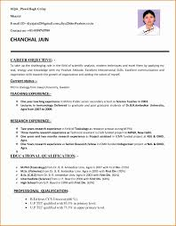 5 Resume Format For Teaching Jobs Besttemplates Besttemplates