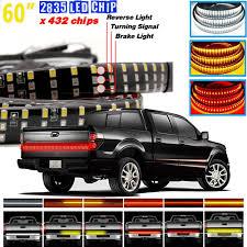 3 Color Led Tailgate Light 60 Inch Truck 2835 Led 3 Color Tailgate Light Bar Brake