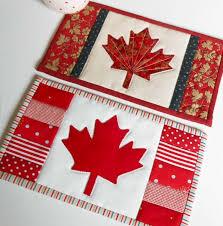 Canadian Flag (Maple Leaf) Mug Rug | Flags, Leaves and Coasters & (7) Name: 'Quilting : Canadian Flag (Maple Leaf) Mug Rug Adamdwight.com
