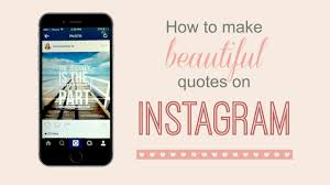 Make Beautiful Quotes Best of How To Make Beautiful Instagram Quotes With Your IPhone YouTube