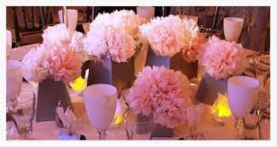 Tissue Paper Flower Centerpiece Wedding Choice Image Flower