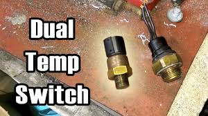 89 xj bmw dual temp switch 2 speed fan wiring