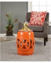 moroccan garden furniture. Abbyson Moroccan Orange Garden Stool (Moroccan Orange), Outdoor Décor Furniture
