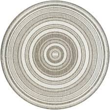 round outdoor rug gazebo stripe champagne taupe area indoor rugs target canada costco