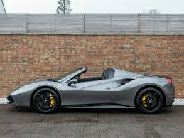 Prices for ferrari 488 spiders currently range from to, with vehicle mileage ranging from to. 2017 Used Ferrari 488 Spider Grigio Ferro Metallic