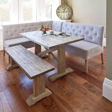 white kitchen table with bench. Bench Kitchen Table Oval Corner Set Metal Storage Seats Teak Regarding Sizing X With Sets White E