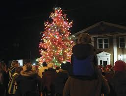 tree lighting makes for special night in branchville