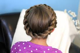 Pretty Girls Hairstyle crown rope twist braid updo hairstyles cute girls hairstyles 2175 by stevesalt.us