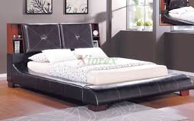 Platform Bedroom Furniture Upholstered Bookcase Panel Platform Bed Furniture 188 Xiorex