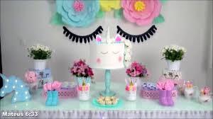 cutest decor diy unicorns birthday party decoration ideas you