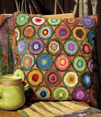 best choice of wool hooked rugs in modern circular motif pillow perfectly styled using a rug