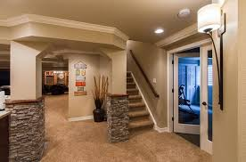 Basement Finishing Design Home Design Interior Fascinating Ideas For Finishing A Basement Plans