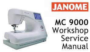 Janome Mc9000 Sewing Machine