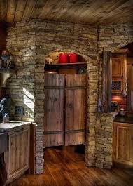 Image Kitchens Ideas Love This Rustic Cabin Kitchen Look At That Pantry Thesynergistsorg Love This Rustic Cabin Kitchen Look At That Pantry Make Mine
