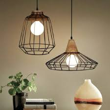 industrial cage lighting. Industrial Vintage Pendant Lights \u0026 Bird Cage Lamps Lighting E