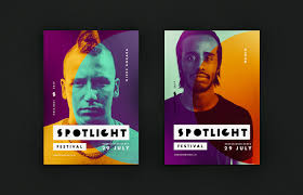 Spotlight Graphic Design Spotlight Festival Identity On Behance