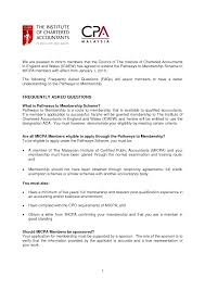 Resume Of Chartered Accountant India New Chartered Accountant