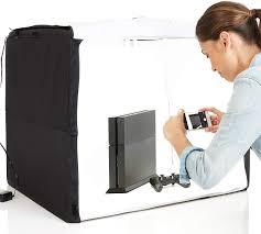 Foldable Light Box Diy Amazonbasics Portable Foldable Photo Studio Box With Led Light 25 X 30 X 25 Inches