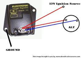 correct alternator wiring edit idk i just picked up the regulator mentioned above its connector is similar to this pic i found on dtr