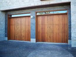 image of simple wood garage doors