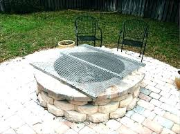 36 inch round fire pit grate fire pit grate grates for outdoor fire pits extra large