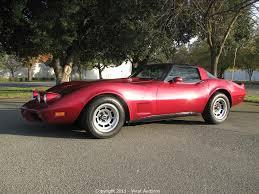West Auctions - Auction: 1978 Chevrolet Corvette 25 Year ...