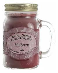 <b>Ароматическая свеча Mulberry</b> Our Own Candle Company купить ...