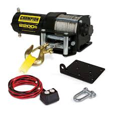 winches & hoists champion power equipment Champion Winch Parts List at Champion 3000 Lb Winch Wiring Diagram